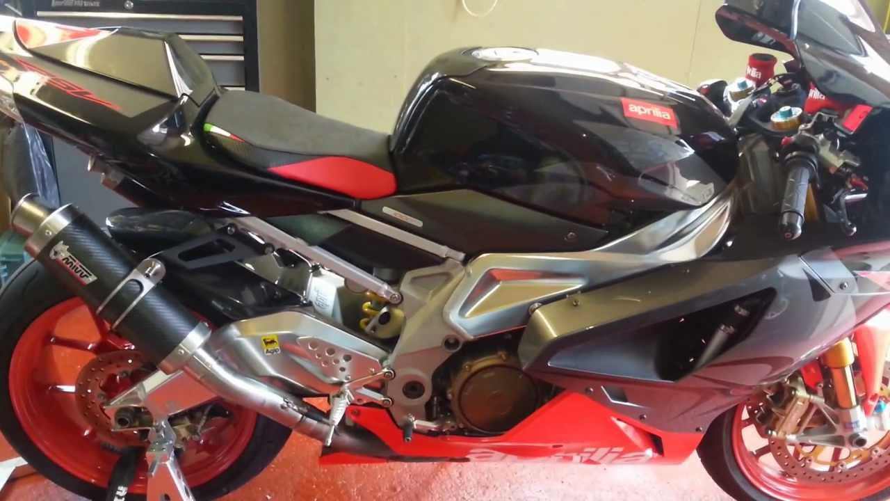 Aprilia Rsv Quot Will Wake The Dead Quot With Mivv Gp Exhaust