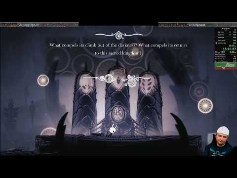 Hollow Knight Any% (no Storage OOB) in 35:51 [Former World Record]