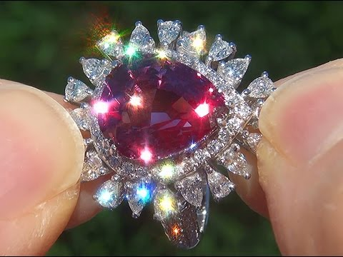 gia-certified-unheated-natural-vvs-color-change-garnet-diamond-18k-white-gold-ring---a141593