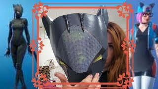 MASQUE DE PEAU DE FORTNITE DE LYNX DE DIY