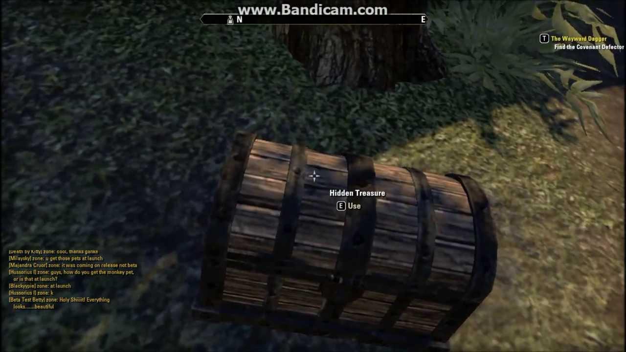 The Elder Scrolls Online - Auridon treasure map II (2) - YouTube