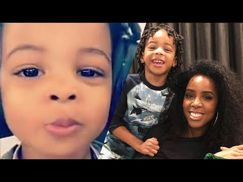 Kelly Rowland Sings With Her Son, Titan Mp3