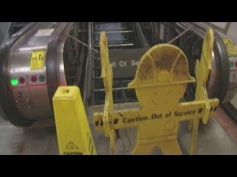Trouble underground: when NFTA metro escalators quit