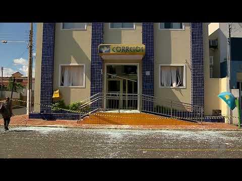 JSD (25/05/18) - Preso Líder De Quadrilha Que Explodiu Bancos Em Ipameri