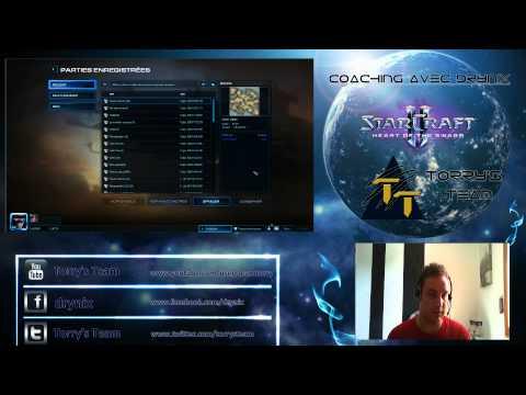 Coaching #15 - Le Style Mecanique avec P4tou (Obs DoDoX) - Starcraft 2 [FR]