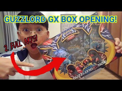 2 FULL ARTS IN ONE BOX!!!||GUZZLORD GX BOX OPENING!!