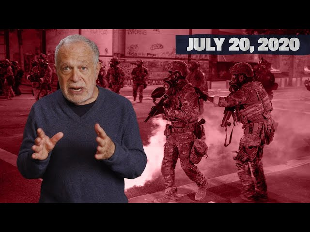 Trump Unleashes Armed Secret Police on Portland Protesters | Reich at Home