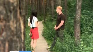 В Академгородке на девушку напал неизвестный
