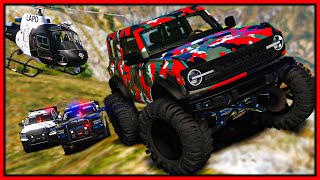 GTA 5 Roleplay - MAKING COPS ANGRY IN OFFROAD MONSTER | RedlineRP