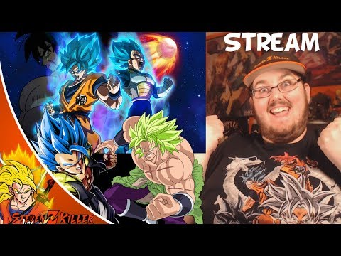 Dragon Ball Super Broly Movie Talk & Live REACTION!!! (Before I see the Movie)