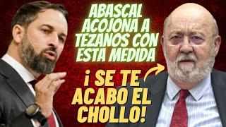 ABASCAL ¡SE HARTA! de TEZANOS por sus MANGONEOS con el CIS ¡¡Y LO ACOJONA AL ANUNCIAR ESTA MEDIDA!!