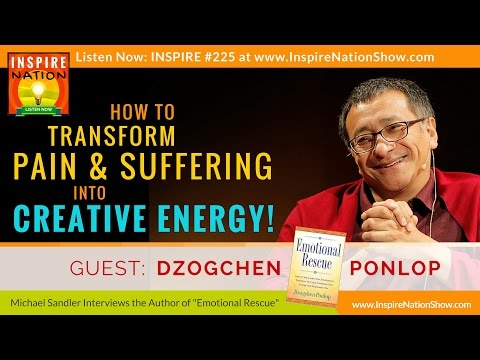How to Transform Pain & Suffering into Creative Energy   Dzogchen Ponlop Rinpoche   Emotional Rescue