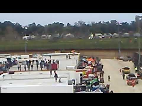 USAC non-winged sprint cars Eldora speedway qualifying