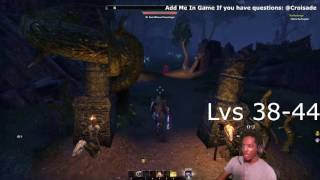 eso no dlc level up fast leveling guide 1 50 in 7 hours dc only