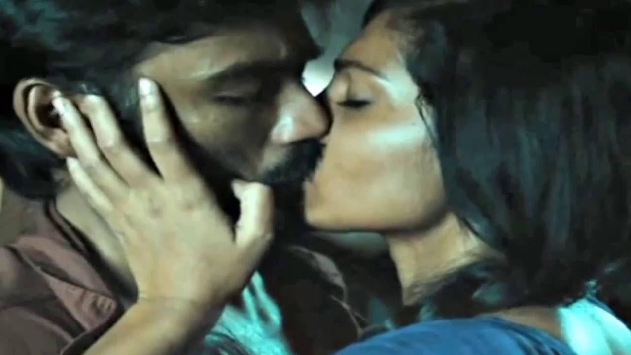 Dhanush Kiss In Tamil Movie Jill Jung Juck Youtube