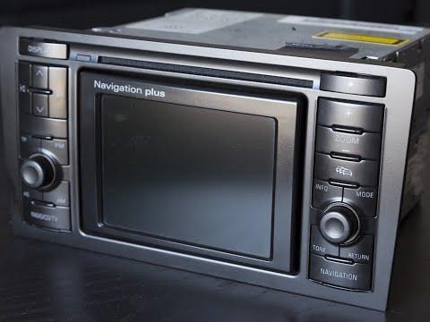 Обновление прошивки магнитолы RNS-D Audi.Полный обзор.