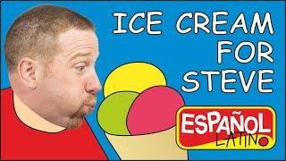 Helado para Steve | Videos para niños | Steve and Maggie Español