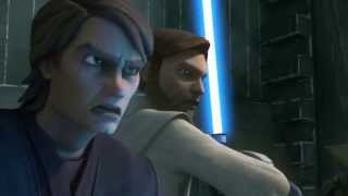 Star Wars: The Clone Wars - Anakin Skywalker & Obi-Wan Kenobi vs. Count Dooku [1080p]
