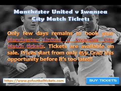 Manchester United v Swansea City Match Tickets