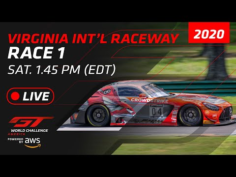 RACE 1 - VIRGINIA - GT WORLD CHALLENGE AMERICA 2020