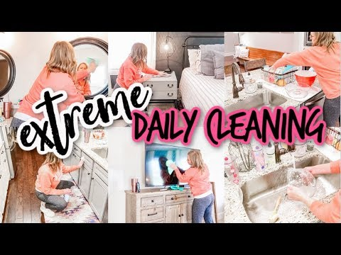 EXTREME DAILY CLEAN WITH ME | ULTIMATE CLEANING | MOTIVATION FOR MAMAS | INTENSE CLEANING MOTIVATION