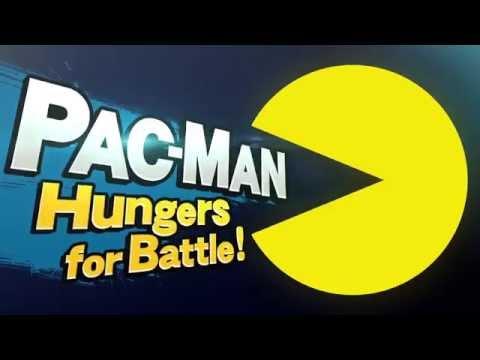 Pac-Man Trailer - Super Smash Bros.