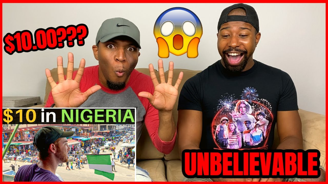 Download 🇳🇬FOREIGNERS SHOCKINGLY SURPRISED!😱 What Can $10 Get in Lagos, Nigeria? (craziest city) | Reaction