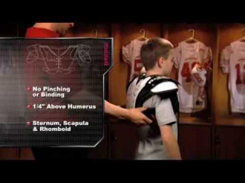 Riddell Youth Shoulder Pad Ing
