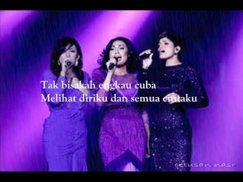 3 suara-semua isi hatimu with lyrics