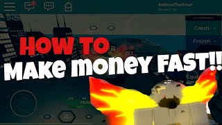 BEST WAY TO MAKE MONEY FAST! | Ghouls Bloody Nights | Roblox