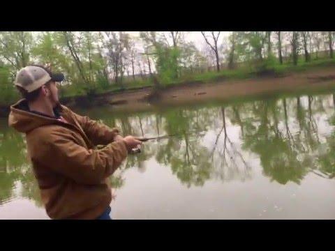 Croppie Fishing (Spawning)   Wabash River