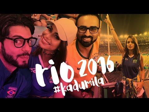 Vlog: #KaduMila Olimpiadas Rio 2016