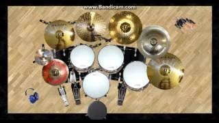 pas band jengah virtual drum