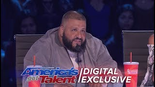 DJ Khaled Joins AGT As Special Guest Judge - America's Got Talent 2017 (Extra) thumbnail