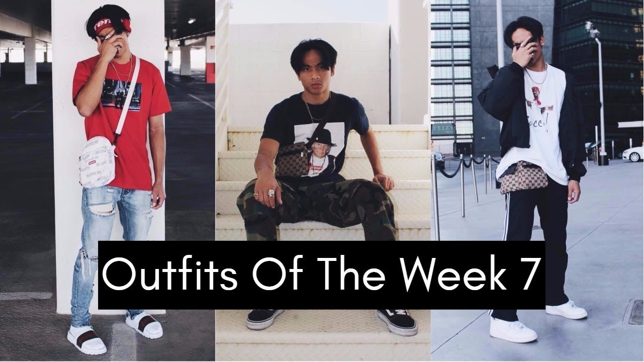 Outfits Of The Week 7 Supreme Gucci