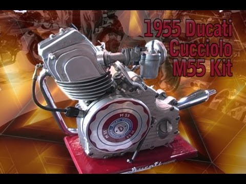 Clymer Manuals 1955 Ducati Cucciolo M55 Motor Kit Antique Vintage Classic Retro Motorcycle Moped