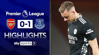 Bernd Leno's howler hands Everton win | Arsenal 0-1 Everton | EPL Highlights