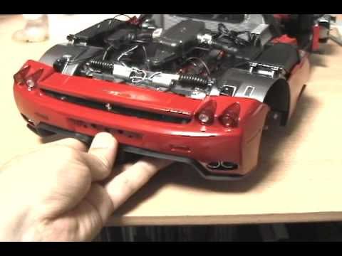 1/10 Model Ferrari Enzo Making