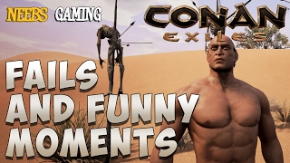 Conan Exiles Fails and Funny Moments