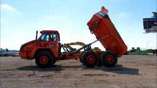 For Sale 2013 Doosan DA30 6x6 Off-Road Articulated Dump Truck A/C bidadoo.com