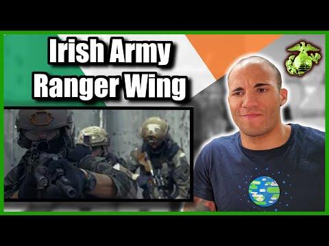 US Marine Reacts To The Irish Army Ranger Wing