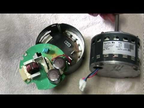 Ecm module repair doovi for Trane blower motor module