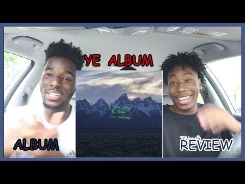 """Kanye West - """"YE"""" Album Review/Reaction   Amazing!"""