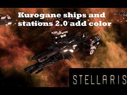 Kurogane Ships and Stations color Mod and More!!! |