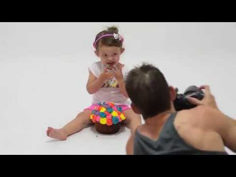 Behind the scenes of Tayla's 2nd Cake Smash photoshoot