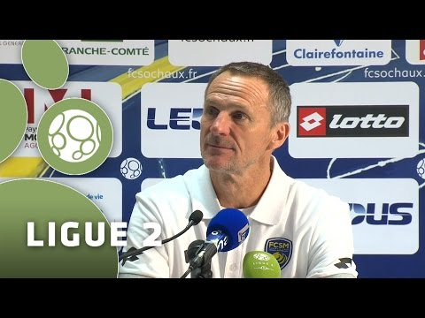 Conférence de presse FC Sochaux-Montbéliard - Tours FC (0-0) - 2015/2016