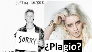 ¿Plagio? Justin Bieber VS White Hinterland: Sorry (2015) - Ring The Bell (2014) comparison
