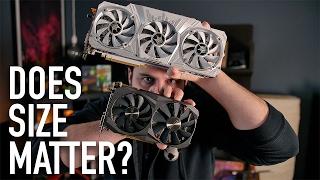 Does Size Matter? | Zotac GTX 1080 Mini VS GALAX GTX 1080 HOF | Tek Syndicate
