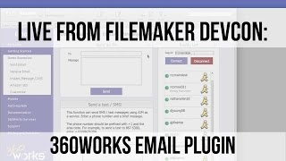 Sending HTML emails and SMS messages from FileMaker: 360Works Email Plugin | FileMaker 14 Training