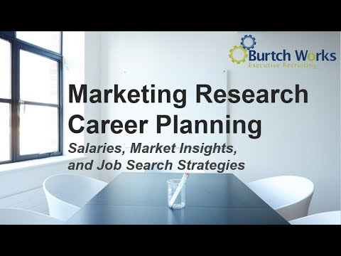 Marketing Research Consumer Insights Career Planning Salaries
